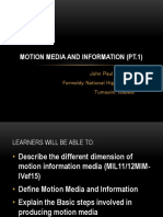 Motion Media and Information (Pt
