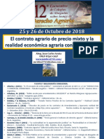 Acuña - 12º Encuentro Rosario 25 Y 26 de octubre de 2018 -Contratos Agrarios