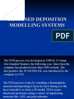 Fused Deposition Modelling Systems