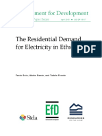 The Residential Demand of electricity in ethiopia.pdf