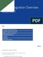 WBTS Integration Overview