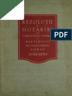 1951 - Rezolutii si hotarari 1948-50.pdf