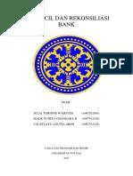 Kas Kecil Dan Rekonsiliasi Bank Kelompok 2