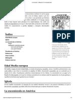 Encomienda - Wikipedia, La Enciclopedia Libre