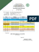 Teacher'SCLASSprogram