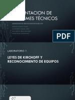 Sustentacion de Informes Técnicos