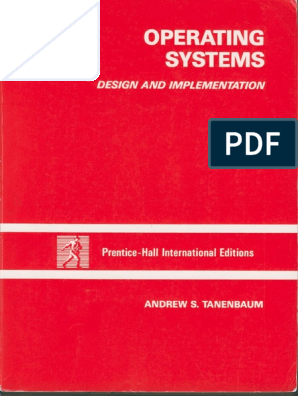 Tanenbaum Woodhull Operating Systems Design Implementation 3rd Edition