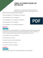 EXERCÍCIOS SOBRE A PLANIFICAÇÃO DE SÓLIDOS GEOMÉTRICOS.docx