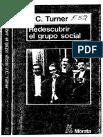 Reicher,S.(1990) Capítulo VIII. Conducta de masa como acción social. En Turner.J.C.