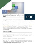 Modelo Vista Controlador en Java y MySQL. Nivel Básico _ Kadum