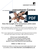 Assessment Centre Poster DS