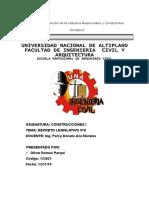 CARATULA DE CONSTRUCCIONES