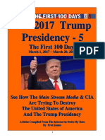 Trump Presidency 5 - March 1, 2017 – March 20, 2017