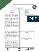 shooting script  1