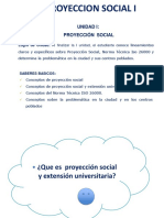 2.- P.S. Proyeccion Social y Extension Universitaria