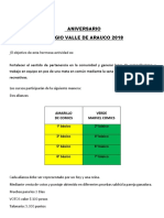 Aniversario Colegio Valle de Arauco 2018