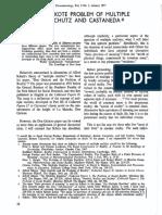 Maloy - Don Quixote Problem of Multiple Realities in Schutz & Castaneda