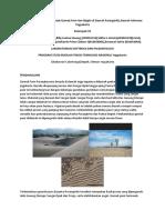 Analisa Arah Arus Pembentuk Gumuk Pasir Dan Ripple Di Daerah Parangtritis