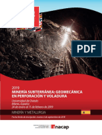 Difusion Mineria Subterranea-geomecanica Aplicado a La Perforacion y Vol... (1)