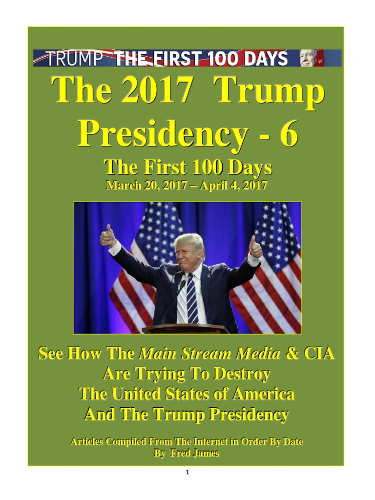 Trump Presidency 6 - March 20, 2017 – April 4, 2017 pdf | Donald