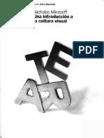 MIRZOEFF, Nicholas. Una Introducción a La Cultura Visual
