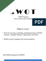 Swot Analysis Opera