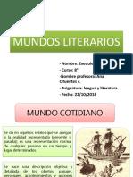 Mundos Literarios. Exequiel Marileo