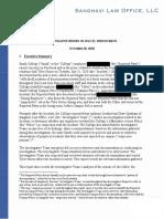 Smith Investigation Report