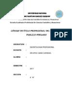 Codigo de Etica de c.p.p