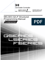 MITSUBISHI QL Structured Mode IEC Programming Manual Fundamentals