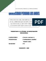 PROYECTO Del Desarrollo Afectivo en El Aprendizaje Significativo_archivo