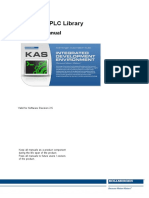 KAS IDE PLC Library Reference Manual en Rev B