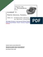 Simulado XX - PCF Área 6 - PF - CESPE