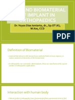 Type and Biomaterial Implant
