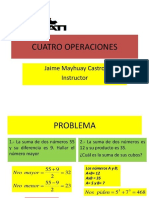 Cuatro Operaciones Senati