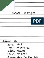 90. Mrs. F 34 Y; Cyst Ovarian Neoplasm