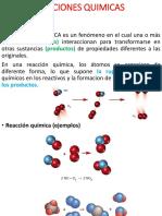 Reaccion Quimica y Estequiometria