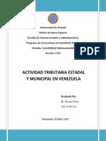 Mariana Perez- Actividad Tributaria Estadal y Municipal