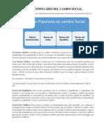 TEORÍA POPULARES DEL CAMBIO SOCIAL