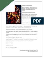 Oração Arcanjo Miguel - Decreto