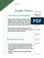 october 5 newsletter