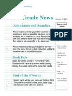 october 16 newsletter