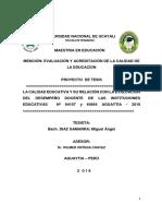 Proyecto de Investigaciòn Miguel Diaz Maestria Aguaytìa
