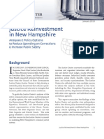 Justice Reinvestment in New Hampshire Jan 2010