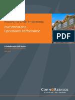 CohnReznick Housing Credit Performance April 2018