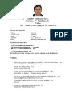 Callao Cv Alberto Guerrero Silva