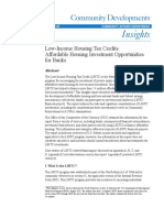 OCC Insights Low Income Housing Tax Credits