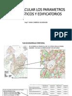 Como Calcular Los Parametros Urbanisticos y Edificatorios