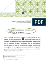 Ley 26657 Salud Mental