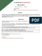 Plantilla Resumen Articulo
